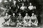 横浜紅蘭女学校第1回卒業生